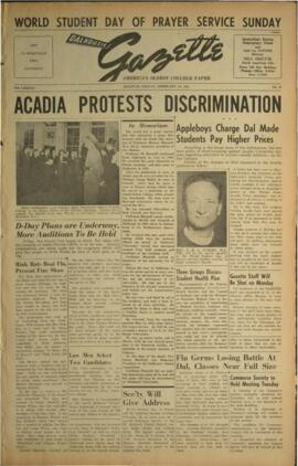 Dalhousie Gazette, Volume 83, Issue 31