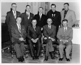 Photograph of a group of people from the Island Telephone Company
