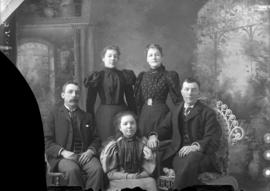 Photograph of Mr. Fraser and family