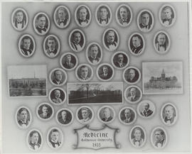 Photograph of Faculty of Medicine - Class of 1935
