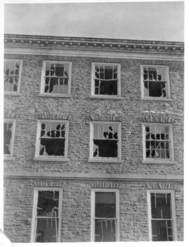 Photograph of Science building after the Halifax Explosion