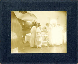 Photograph of Victoria General Hospital, Operating Room