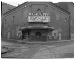 Photograph of the exterior of the Roseland Academy Theatre