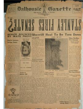 Dalhousie Gazette, Volume 72, Issue 20