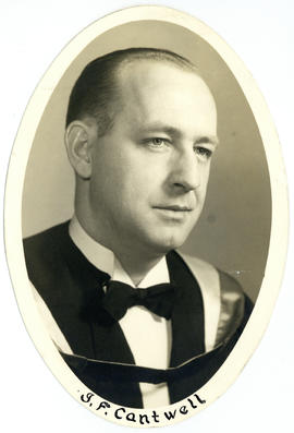 Portrait of J.F. Cantwell : Class of 1949