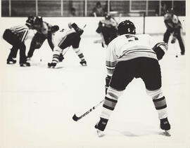 Photograph of hockey game