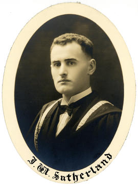 Portrait of James William Sutherland : Class of 1927