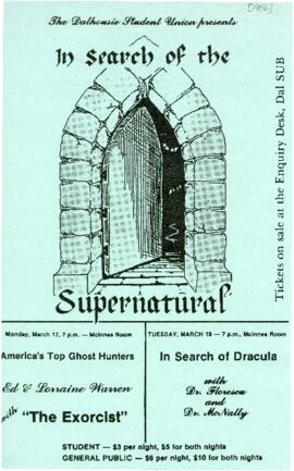 In Search of the Supernatural : [poster]