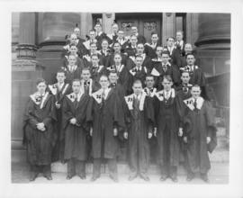 Photograph of a Nova Scotia Technical College graduating class