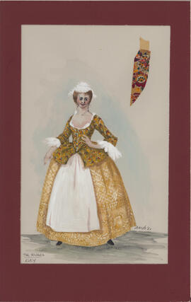 Costume design for Lucy
