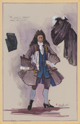 Costume design for Harry Bellmour