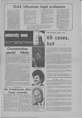 University News, Volume 3, Issue 2