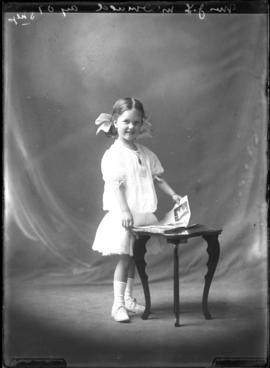 Photograph of the child of Mrs. J. L. McDonald