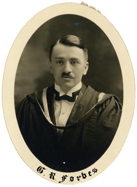 Portrait of George Ronald Forbes : Class of 1926