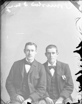 Photograph of Mr. Ormiston and his friend