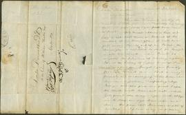 A letter from William Spence to James Dinwiddie