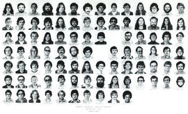 Composite photograph of the Faculty of Medicine - Fourth Year Class, 1977-1978