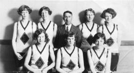 Photograph of Dalhousie girls basketball team
