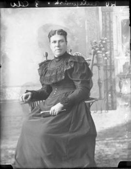 Photograph of Mrs. R. McDonald