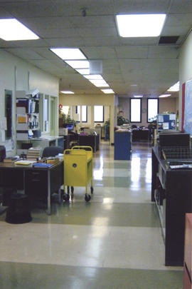 Photograph of W.K. Kellogg Library office space