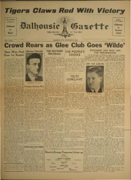 Dalhousie Gazette, Volume 72, Issue 2