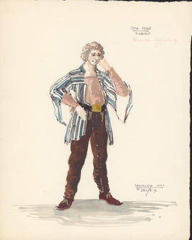 Costume design for Fabian