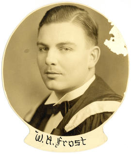 Portrait of William Harding Frost : Class of 1939