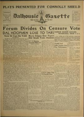Dalhousie Gazette, Volume 72, Issue 13