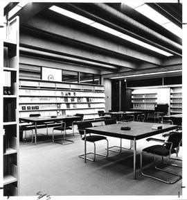 Photograph of a room in the School of Library Service