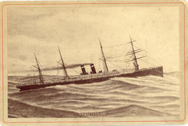 "Postcard of "" S.S. Westernland"""