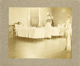 Photograph of Ward 51 in the Victoria General Hospital
