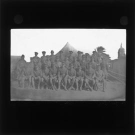 Photograph of unidentified soldiers