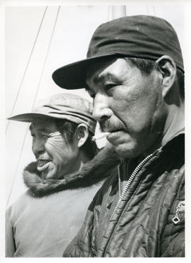 Photograph of Josephee Ananak and a second unidentified man