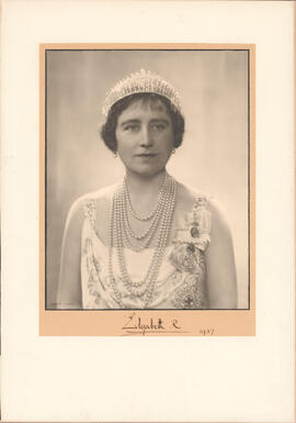 Photograph of Queen Elizabeth, consort of George VI