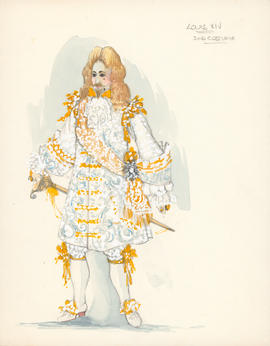 Costume design for Louis XIV : second costume