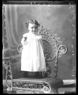 Photograph of the baby of Mr. J.F. Muirhead