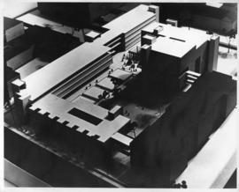 Photograph of a model of the proposed Physical Sciences Centre