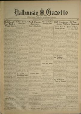Dalhousie Gazette, Volume 66, Issue 6