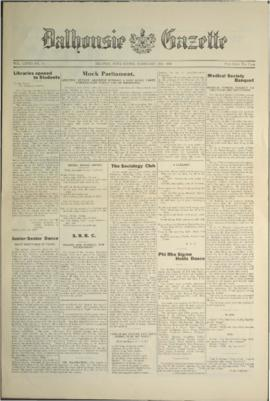 Dalhousie Gazette, Volume 58, Issue 14