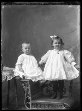 Photograph of the children of Laurie McKarachen