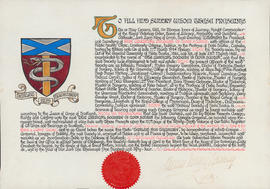 Grant of Arms to Medical Society of Nova Scotia