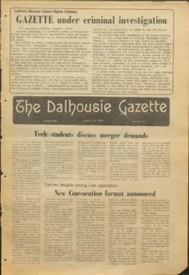 The Dalhousie Gazette, Volume 106, Issue 15