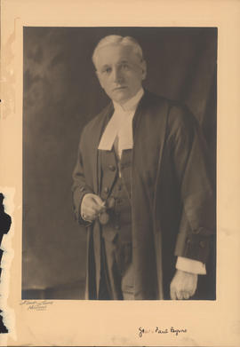 Photograph of James Paul Byrne, Faculty of Law
