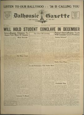 Dalhousie Gazette, Volume 70, Issue 6