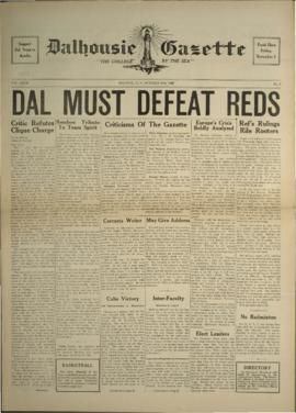 Dalhousie Gazette, Volume 69, Issue 6