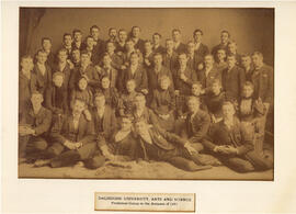 Photograph of Dalhousie University Arts and Science freshman group in the autumn of 1893