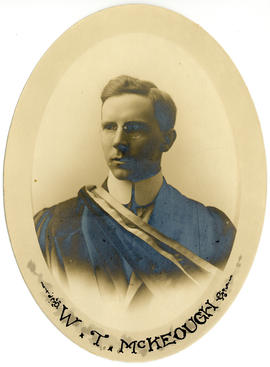 Portrait of William Thomas McKeough : Class of 1914