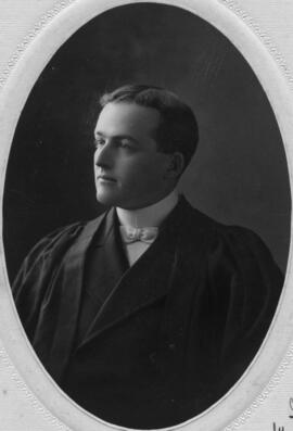Photograph of Harry Clement Fraser : Class of 1906