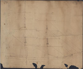 Plan of the Brig. Oak Point