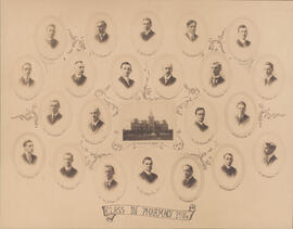 Composite photograph of Class in Pharmacy - 1916